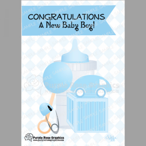 Greeting cards for baby showers