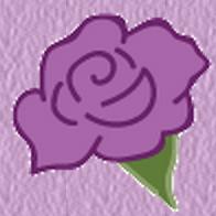 Purple Rose Graphic Design