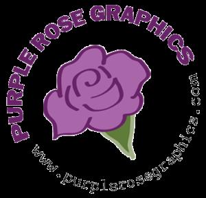 Purple Rose Graphics Logo
