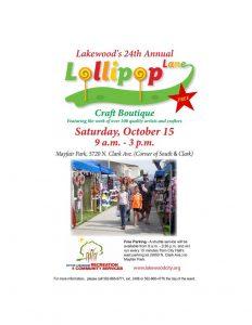 Lollipop Lane in Lakewood,CA