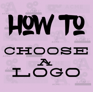 How to choose a logo