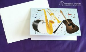 5 piece musical instrument band