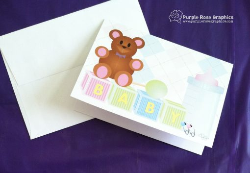 Gender Neutral New Baby Card