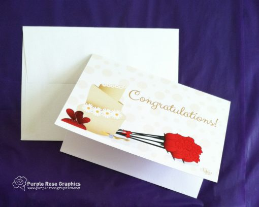 Wedding Engagement Congrats Card