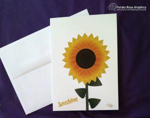 Sunshine Sunflower Card