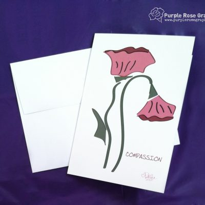 Compassion Flower Sympathy Card