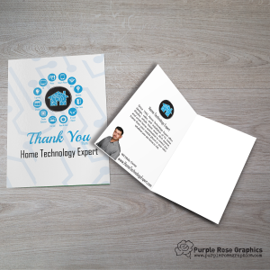 Custom Branded Greeting Card