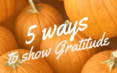 5 Ways to Show Gratitude for your clients
