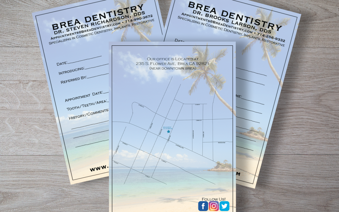 Dentist Appointment Cards