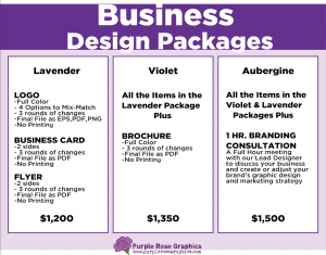 Business Design Packages