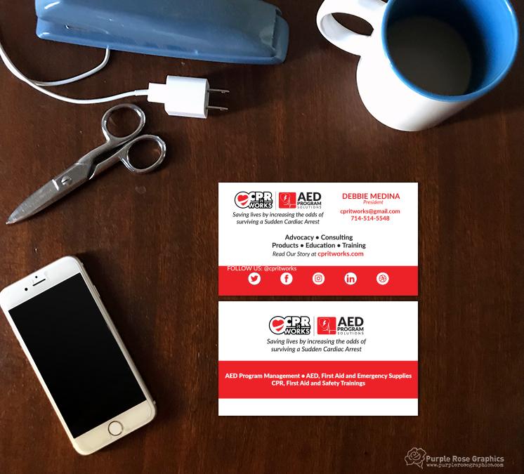 Healthcare Company Business Card