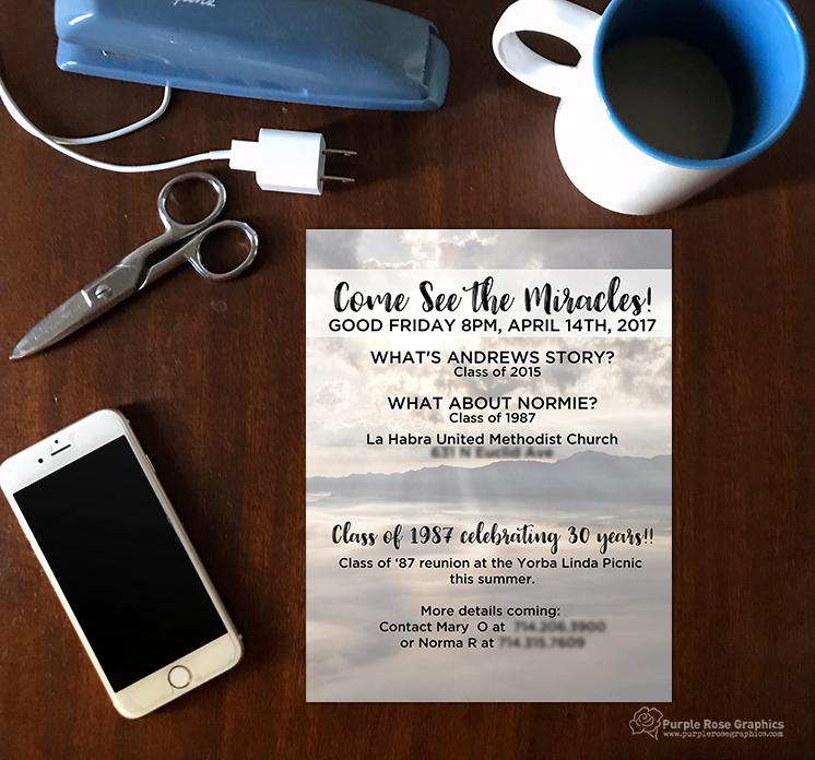 Custom Marketing Flyer