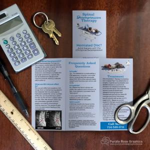 Chiropractor Business Brochure Design