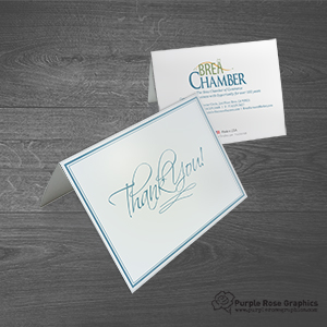 Custom Thank You for Business