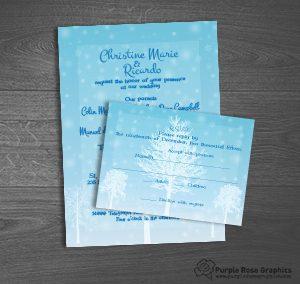 2-piece Invitation Set
