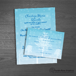 2-piece Invitation Set
