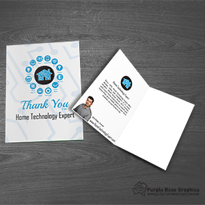 Custom Branded Thank You Card