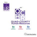 Quad County Logo Design Before and After Created by Purple Rose Graphics in Orange County California
