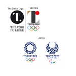 Plagarized Olympic Logo from Tokyo 2020 Games