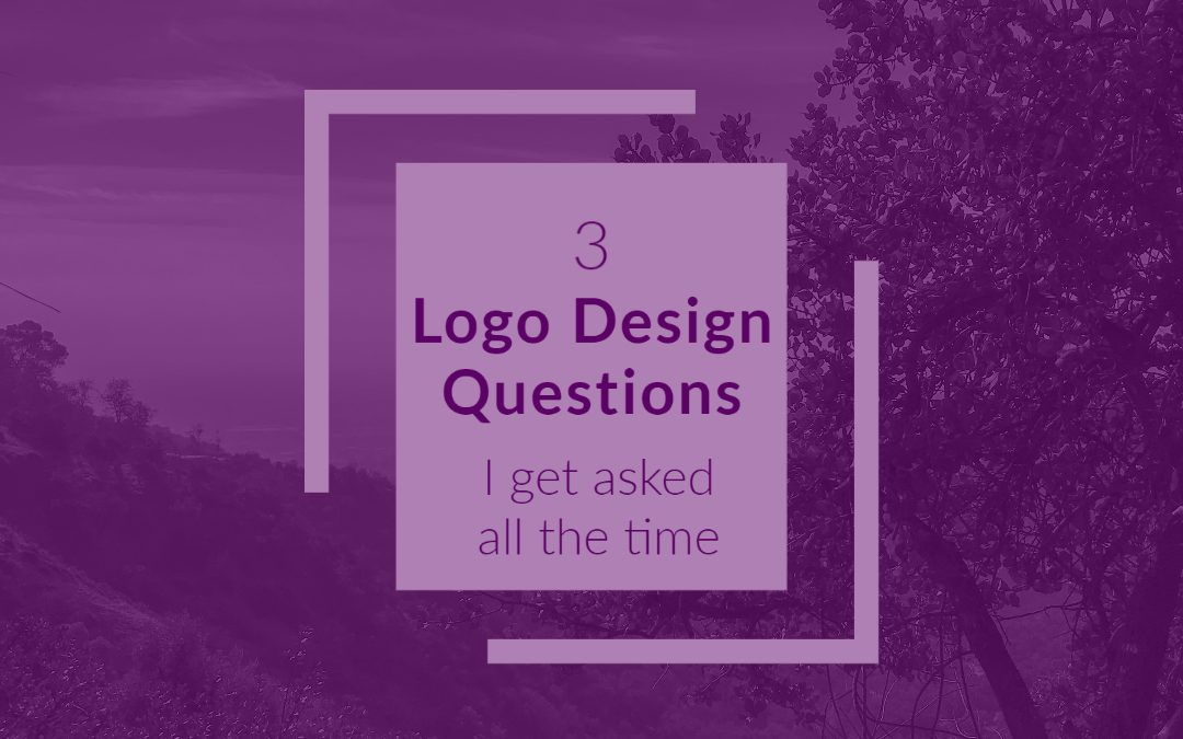 3 logo questions i get asked all the time as a graphic design specialist
