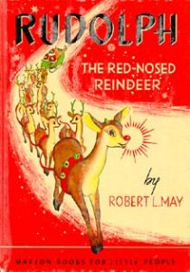 original cover of Rudolph the Red Nose Reindeer created 1939 for May Co.